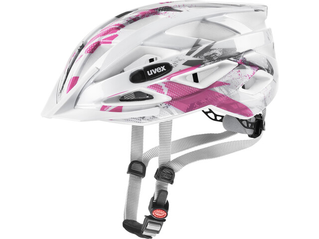 UVEX Air Wing Cykelhjelm Børn, white pink